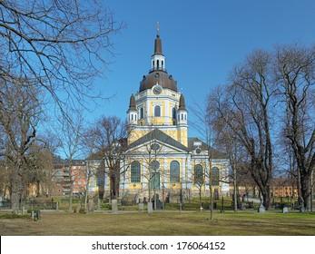 Katarina Church in Stockholm, Sweden