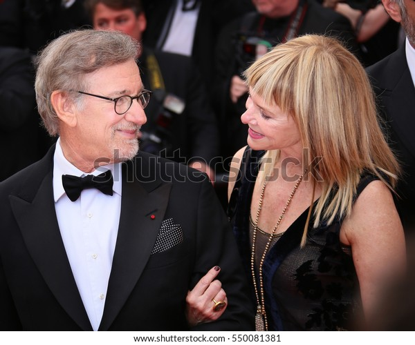 Kate Capshaw Steven Spielberg Attend He Stock Photo Edit Now 550081381