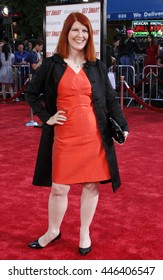 Kate Flannery at the World premiere of 'Get Smart' held at the Mann Village Theater in Westwood, USA on June 16, 2008.