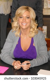 "Kate Gosselin  at an appearance signing copies of her new book ""I Just Want You To Know: Letters to My Kids on  Love, Faith and Family,"" Barnes & Noble, Santa Monica, CA. 04-16-10"