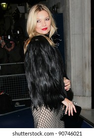 Kate Moss arriving for the 2011 British Fashion Awards, at The Savoy, London. 28/11/2011 Picture by: Alexandra Glen / Featureflash