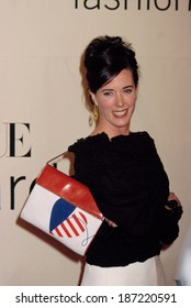 Kate Spade at the VH1/Vogue Fashion Awards, 10/19/01, NYC
