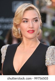 Kate Winslet arriving for the Titanic 3D film premiere, Royal Albert Hall, London. 27/03/2012 Picture by: Alexandra Glen / Featureflash