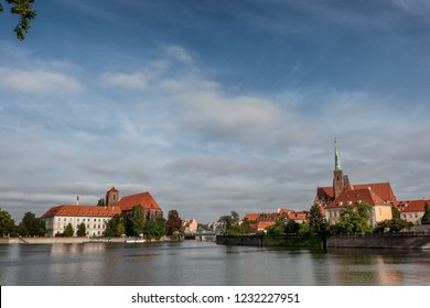The Katedra at the Odra in Wroclaw, Poland
