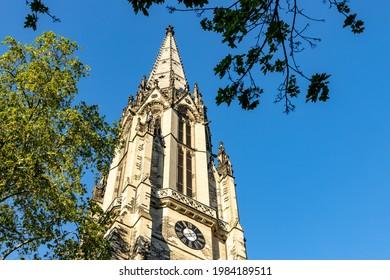 Kath. Kirche Herz Jesu in Cologne city - Shutterstock ID 1984189511
