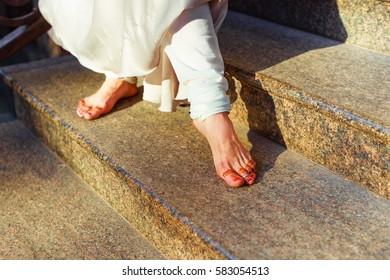 kathak dancer's feet, Mehndi