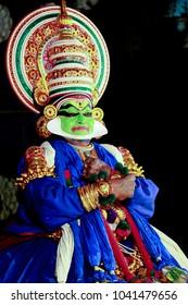 KATHAKALI, an artistic perfection.Kathakali (Malayalam: , kathakai) is one of the major forms of classical Indian dance.