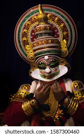 Kathakali is a blend of dance, music and acting and dramatizes stories, which are mostly adapted from the Indian epics. It is a stylised art form