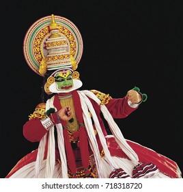 Kathakali dance performance in Kerala