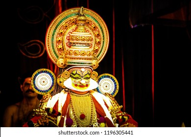 Kathakali,a pure spirituality from kerala. Kathakali - The beauty . Where beauty , talent , emotions and life comes to a single Dias. The story teller of a culture .