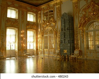 Katherine's Palace Hall in Sarskoe Selo (Puschkin), Russland