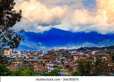 Kathmandu the capital of Nepal