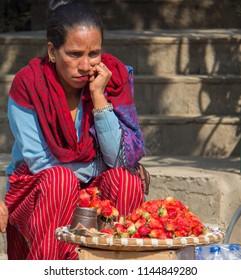 Strawberry Vendor Images, Stock Photos & Vectors | Shutterstock