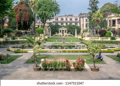 Kathmandu,Nepal, 04.12.2018 - Garden of Dreams.