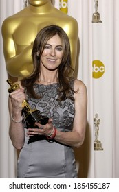 Kathryn Bigelow, Best Achievement in Directing for The Hurt Locker, 82nd Annual Academy Awards Oscars Ceremony-PRESS ROOM, The Kodak Theatre, Los Angeles March 7, 2010