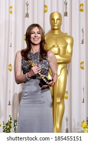 Kathryn Bigelow, best director for The Hurt Locker, 82nd Annual Academy Awards Oscars Ceremony-PRESS ROOM, The Kodak Theatre, Los Angeles March 7, 2010