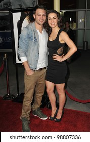 "Kathryn McCormick & Ryan Guzman at the Los Angeles premiere of ""Gone"" at the Arclight Theatre, Hollywood. February 21, 2012  Los Angeles, CA Picture: Paul Smith / Featureflash"