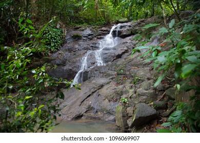 Kathu Waterfall in Phuket, Thailand.