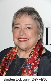 """Kathy Bates at the Elle 20th Annual """"Women In Hollywood"""" Event, Four Seasons Hotel, Beverly Hills, CA 10-21-13"""