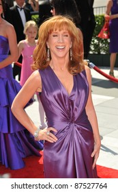 Kathy Griffin at the 2009 Creative Arts Emmy Awards at the Nokia Theatre L.A. Live in Downtown Los Angeles. September 12, 2009  Los Angeles, CA Picture: Paul Smith / Featureflash