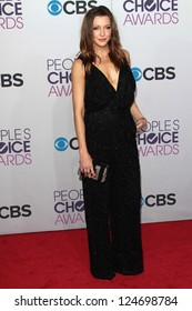 Katie Cassidy at the 2013 People's Choice Awards Arrivals, Nokia Theater, Los Angeles, CA 01-09-13