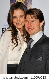 Katie Holmes and Tom Cruise at Mentor LA's Promise Gala. Twentieth Century Fox Studios, Los Angeles, CA. 03-22-07
