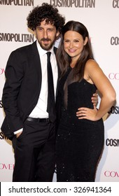 Katie Lowes at the Cosmopolitan's 50th Birthday Celebration held at the Ysabel in West Hollywood, USA on October 12, 2015.
