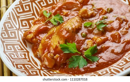 Katla Macher Tel Jhal, Bengali curry  Fish
