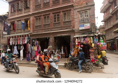 Katmandu / Nepal - September 17 2018: Durbar Square in Katmandu, Nepal.