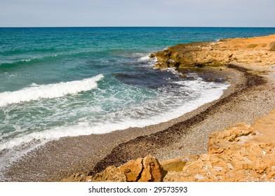 Kato Gouves (or Kato Gournes) beach, Crete, Greece
