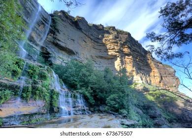 Katoomba Falls, Blue Mountains NSW Australia