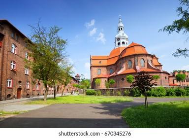 Katowice / Nikiszowiec, traditional building