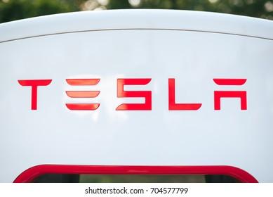 Tesla Logo Images, Stock Photos & Vectors | Shutterstock