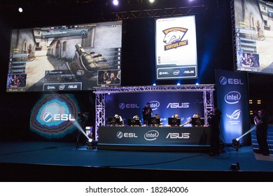 KATOWICE, POLAND - MARCH 16: Intel Extreme Masters 2014 (IEM) - Electronic Sports World Cup on March 16, 2014 in Katowice, Silesia, Poland.