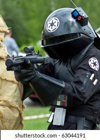 KATOWICE, POLAND - MAY 8: Rally fan Star Wars on May 8, 2010 in Katowice, Silesia, Poland.