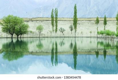 Katpana Lake Skardu Baltistan Pakistan