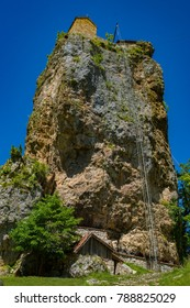 Katskhi pillar, Monastery on column, Georgia