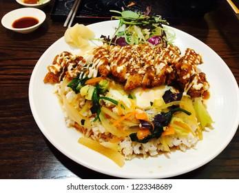 katsu curry katsydon food