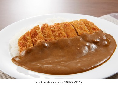 Katsu curry(Curry rice with fried pork)