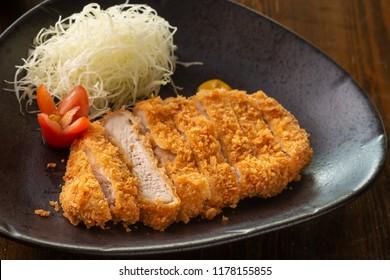 Katsu - Japanese deep fried pork