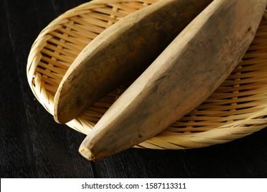 Katsuobushi is dried, fermented, and smoked skipjack tuna.