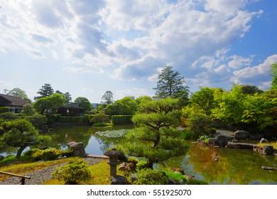 The Katsura Imperial Villa