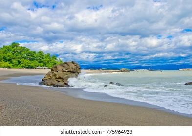 Katsurahama Beach in Kochi prefecture, Shikoku, Japan.