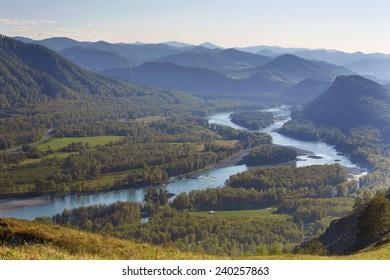 Katun River Valley, Altai Republic