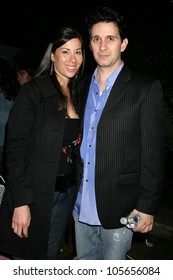 Katy Jacoby and Ronnie Marmo at a party hosted by Theatre 68 to Announce the John Patrick Shanley Festival. Private Residence, Beverly Hills, CA. 02-23-09