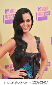 Katy Perry at the 2012 MTV Video Music Awards at Staples Center, Los Angeles. September 6, 2012  Los Angeles, CA Picture: Paul Smith