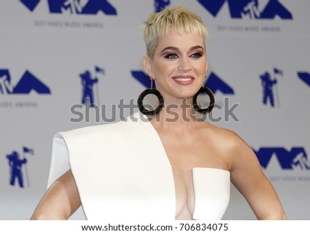 Katy Perry at the 2017 MTV Video Music Awards held at the Forum in Inglewood, USA on August 27, 2017.