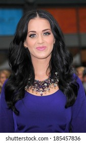 Katy Perry at a public appearance for Launch of Purr Fragrance by Katy Perry for Nordstrom Pop-Up NYC Event, Greeley Square Park, New York November 16, 2010