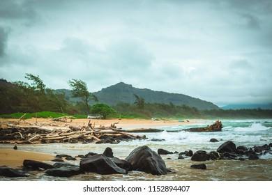 Kauai Hawaii Lae Nani Beach