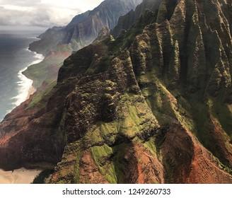 Kauai, Hawaii: Stunning Napali Coast along the Pacific Ocean